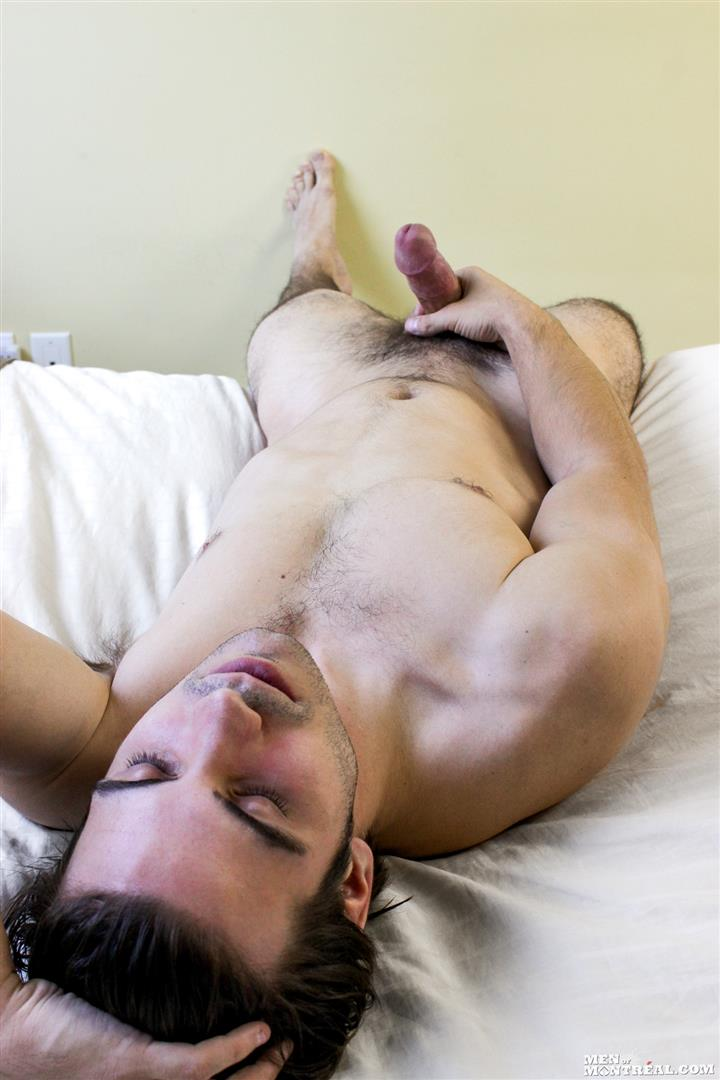 Men-of-Montreal-Mattice-LeRock-Canadian-Muscle-Hunk-Jerking-His-Big-Uncut-Cock-Amateur-Gay-Porn-10 Beefy Canadian Hunk Jerking Off His Big Uncut Cock