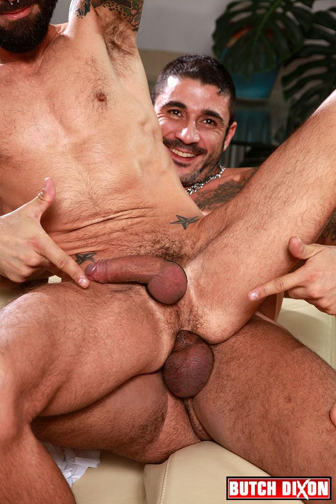 Butch Dixon Kris Kurt and Max Toro Big Uncut Cocks Bareback Fucking Amateur Gay Porn 22 Max Toro Barebacking Kris Kurts Slutty Ass With His Huge Uncut Cock