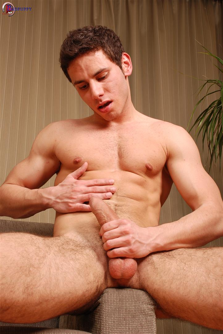 BadPuppy Cliff Butler European Hunk With a Big uncut cock jerk off Amateur Gay Porn 13 Young Jock Cliff Butler Jerking Off His Big Uncut Cock