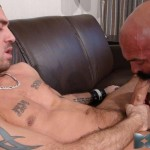 Bareback That Hole Jessy Karson and John Stache Daddy Getting Barebacked By Big Uncut Cock Amateur Gay Porn 01 150x150 Hairy Muscle Daddy Gets Barebacked By A Younger Big Uncut Cock