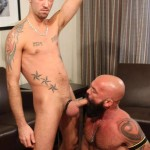 Bareback That Hole Jessy Karson and John Stache Daddy Getting Barebacked By Big Uncut Cock Amateur Gay Porn 06 150x150 Hairy Muscle Daddy Gets Barebacked By A Younger Big Uncut Cock