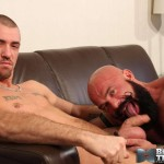 Bareback That Hole Jessy Karson and John Stache Daddy Getting Barebacked By Big Uncut Cock Amateur Gay Porn 10 150x150 Hairy Muscle Daddy Gets Barebacked By A Younger Big Uncut Cock