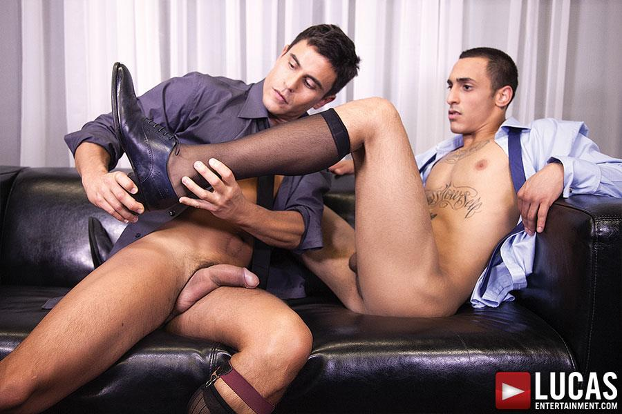 Lucas-Entertainment-Rafael-Carreras-and-Rico-Romero-Big-Uncut-Cock-Bareback-Amateur-Gay-Porn-06 Rafael Carreras Barebacking Rico Romero With His Big Uncut Cock