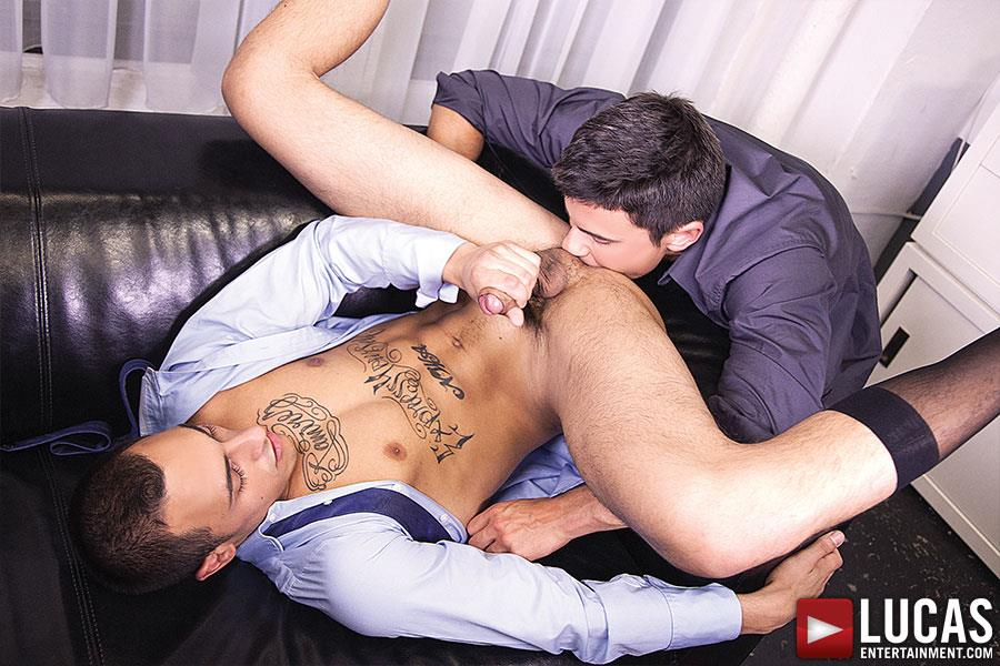 Lucas Entertainment Rafael Carreras and Rico Romero Big Uncut Cock Bareback Amateur Gay Porn 10 Rafael Carreras Barebacking Rico Romero With His Big Uncut Cock