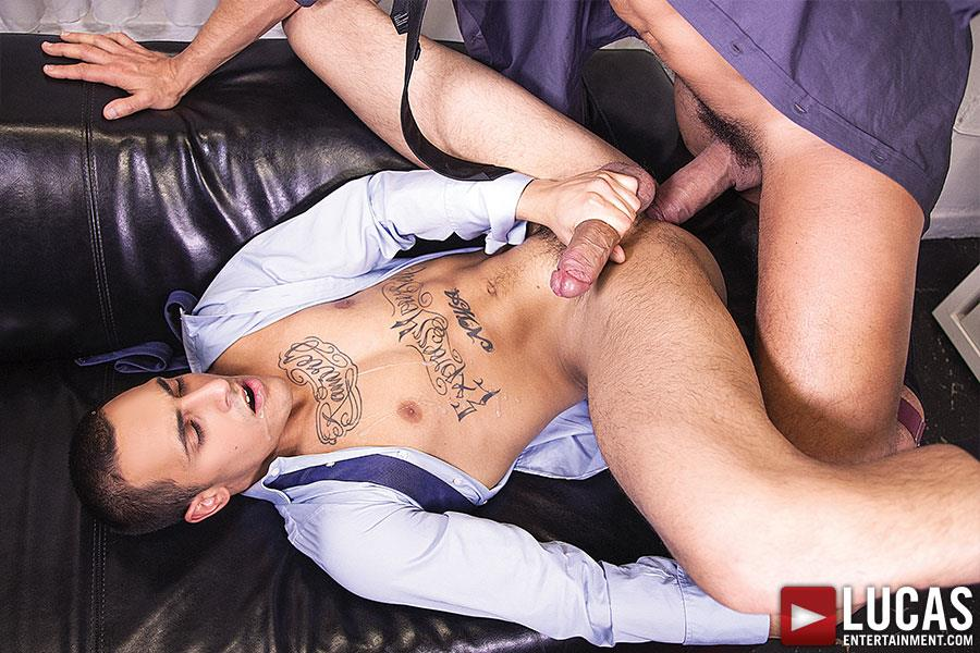 Lucas-Entertainment-Rafael-Carreras-and-Rico-Romero-Big-Uncut-Cock-Bareback-Amateur-Gay-Porn-11 Rafael Carreras Barebacking Rico Romero With His Big Uncut Cock
