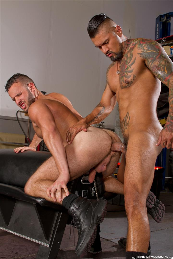 Raging Stallion Boomer Banks and Aaron Steel Big Uncut Cocks Fucking Amateur Gay Porn 13 Boomer Banks Fucking Aaron Steel With His Huge Uncut Cock