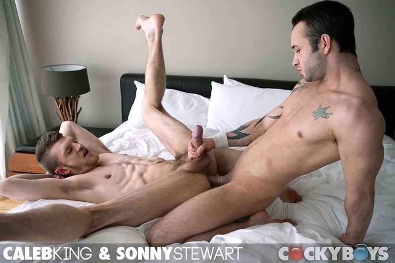 CockyBoys Sonny Stewart and Caleb King Big Uncut Cock Fucking Amateur Gay Porn 19 Big Uncut Cock Fucking With Sonny Stewart & Caleb King