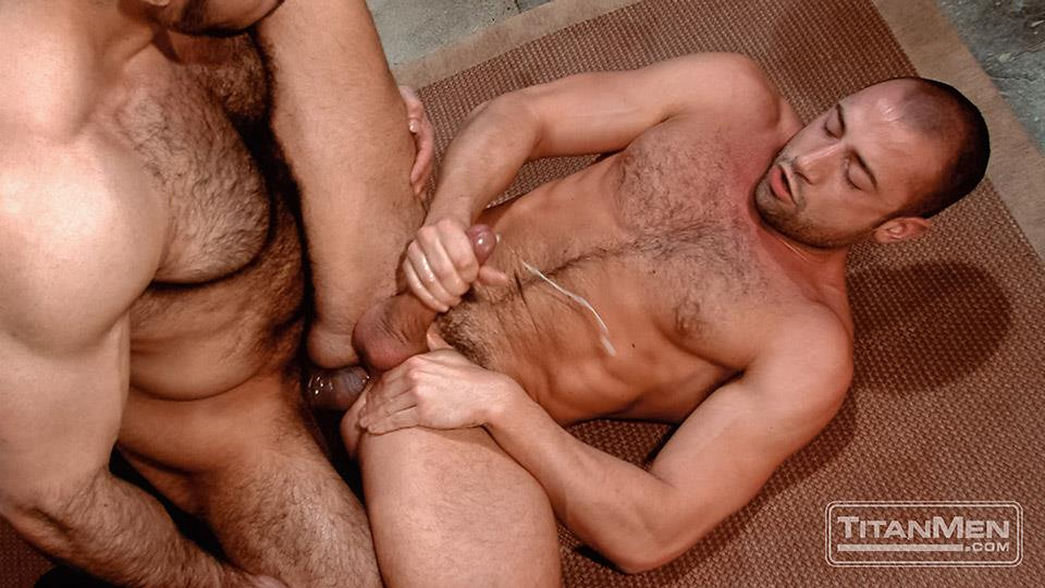 Titan-Media-Adam-Champ-and-Donnie-Dean-Hairy-Muscle-Bear-With-Big-Uncut-Cock-Fucking-Amateur-Gay-Porn-26 Hairy Muscle Bear Adam Champ Fucking A Tight Ass With His Big Uncut Cock