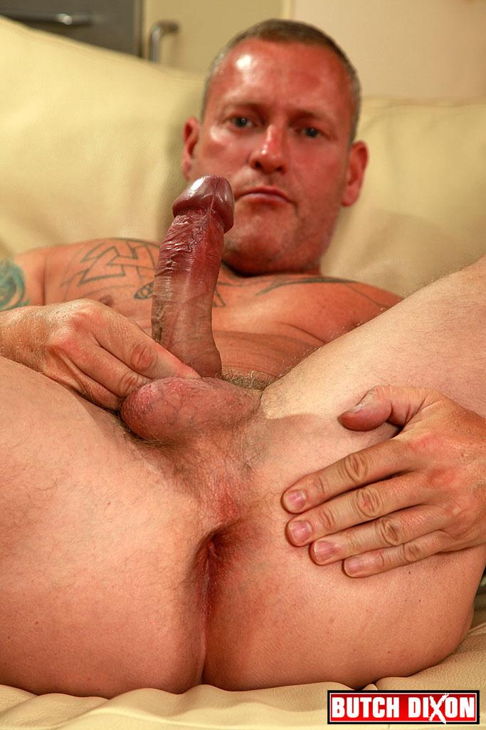 "Butch Dixon Big T British Muscle Daddy With A Big Uncut Cock Amateur Gay Porn 13 British Muscle Daddy Jerking Off His Big 9"" Uncut Cock"