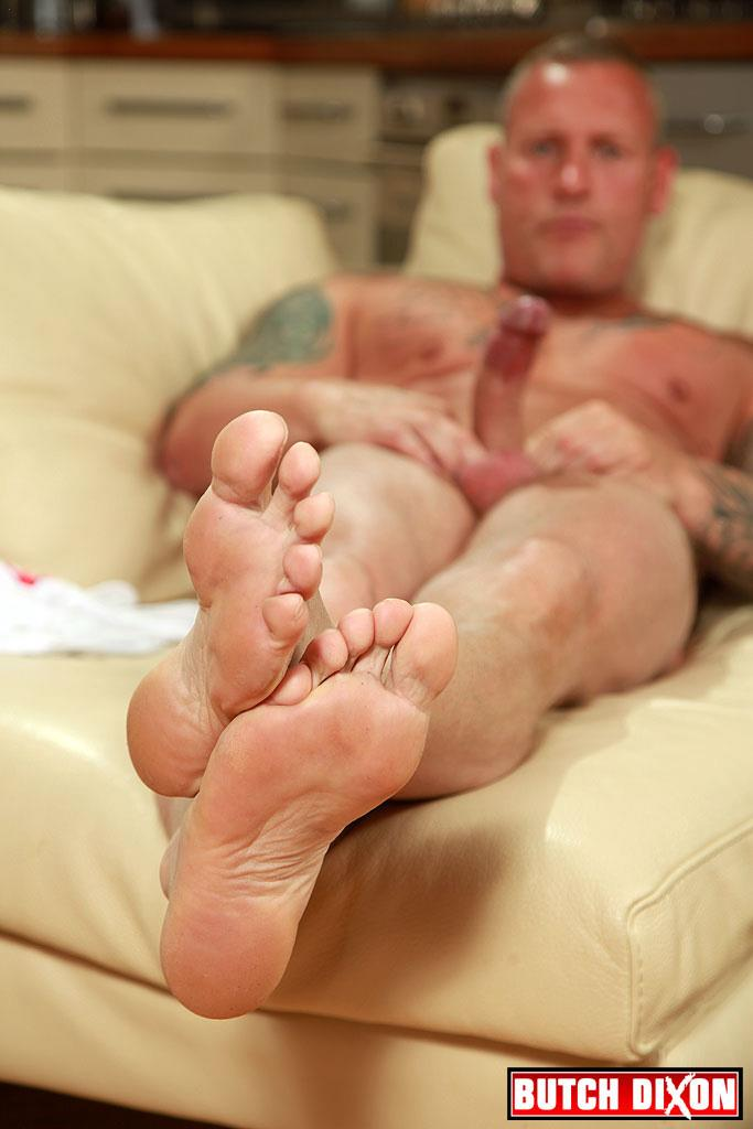 "Butch Dixon Big T British Muscle Daddy With A Big Uncut Cock Amateur Gay Porn 16 British Muscle Daddy Jerking Off His Big 9"" Uncut Cock"