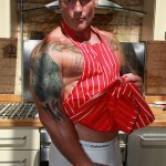 Butch Dixon Big T British Muscle Daddy With A Big Uncut Cock Amateur Gay Porn 25 150x150 British Muscle Daddy Jerking Off His Big 9