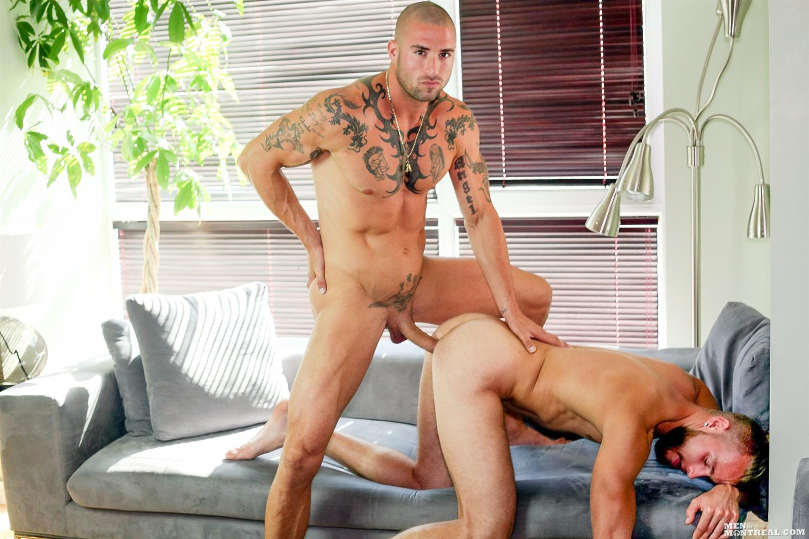 Men-of-Montreal-Kyle-Champagne-and-Derek-Thibeau-Big-Uncut-Cocks-Fucking-Amateur-Gay-Porn-13 Kyle Champagne Takes A Big Uncut Cock Up The Ass