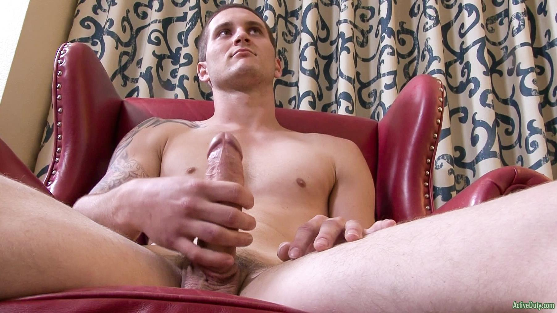 Active Duty Allen Lucas Army Private Jerking Off Big Uncut Cock Amateur Gay Porn 08 US Army Private Jerking His Big Uncut Cock