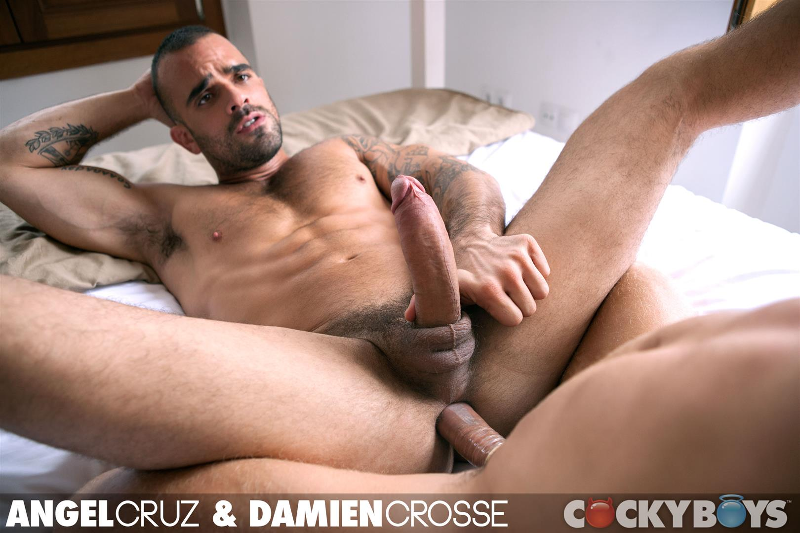Cockyboys-Angel-Cruz-and-Damien-Cross-Big-Uncut-Cocks-Fucking-Amateur-Gay-Porn-33 Angel Cruz and Damien Cross Flip Fucking With Their Big Uncut Cocks