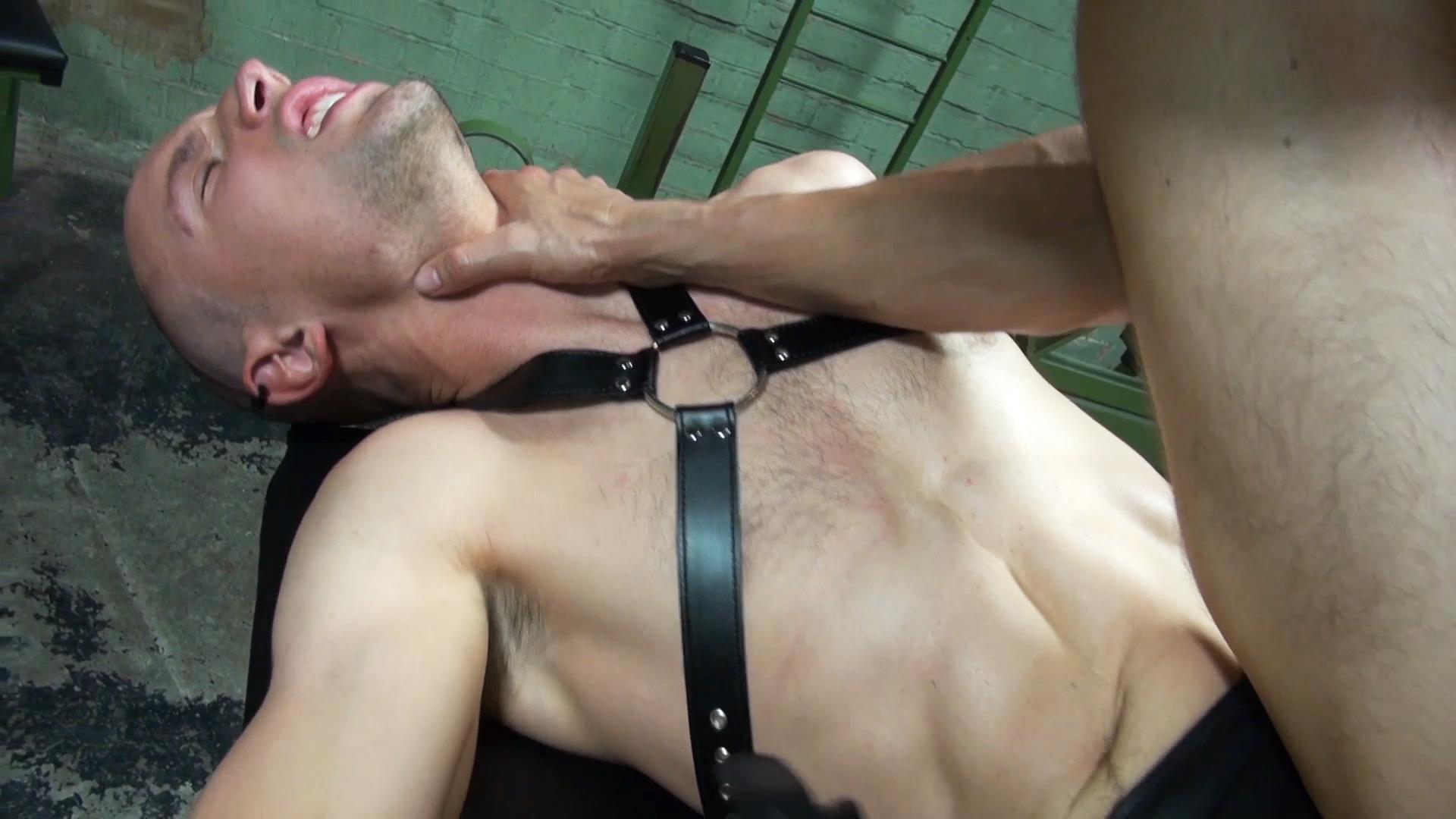 Dark Alley XT Anakonda and Jason Domino Bareback Big Uncut Cock Amateur Gay Porn 1 Breeding A Slave Hole With A Big Uncut Cock At The Bathhouse