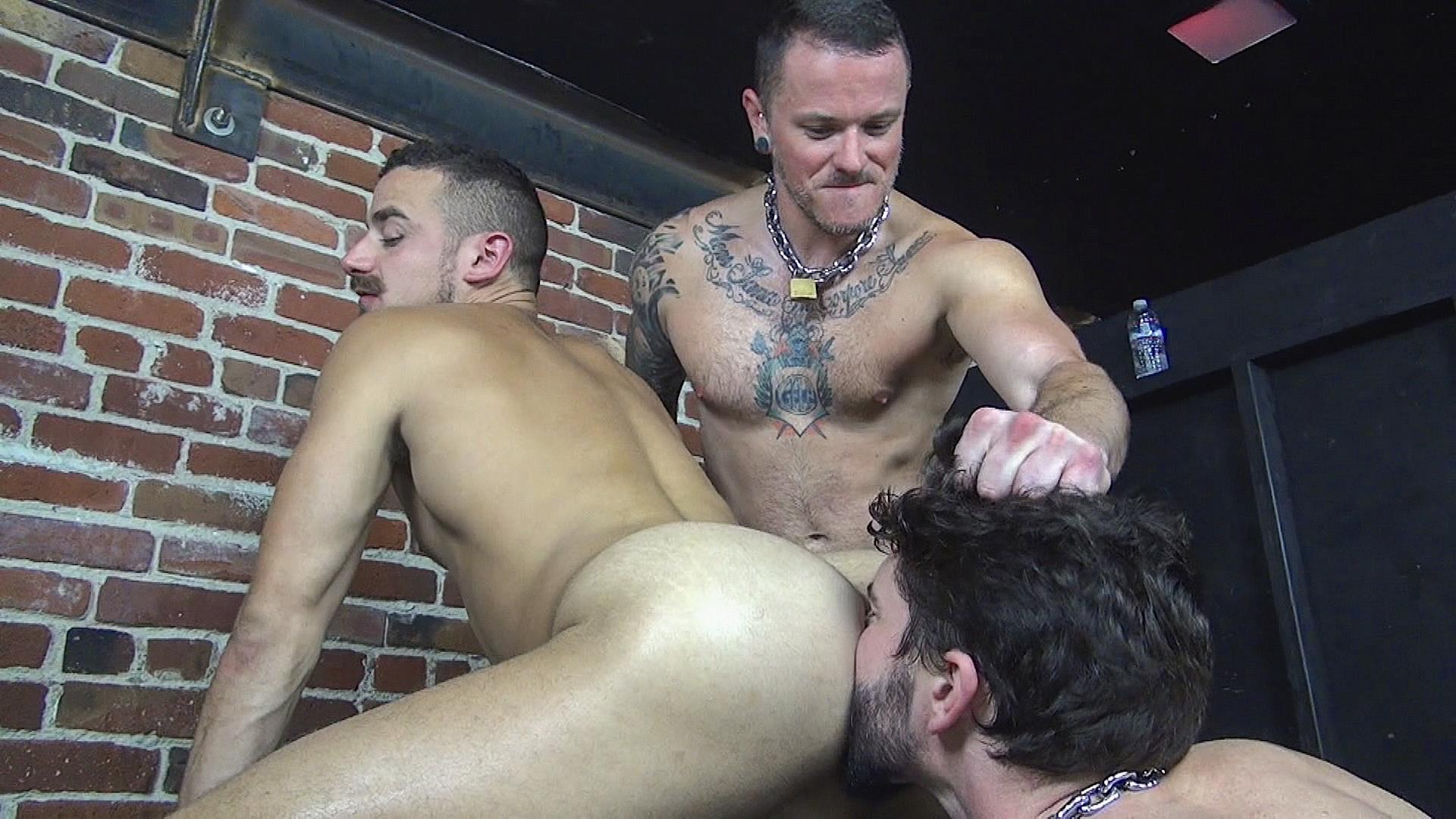 Raw Fuck Club Max Cameron and Jackson Fillmore and Leon Fox Bareback Double Penetration Amateur Gay Porn 08 Getting Double Penetrated Bareback By A Big Uncut Cock