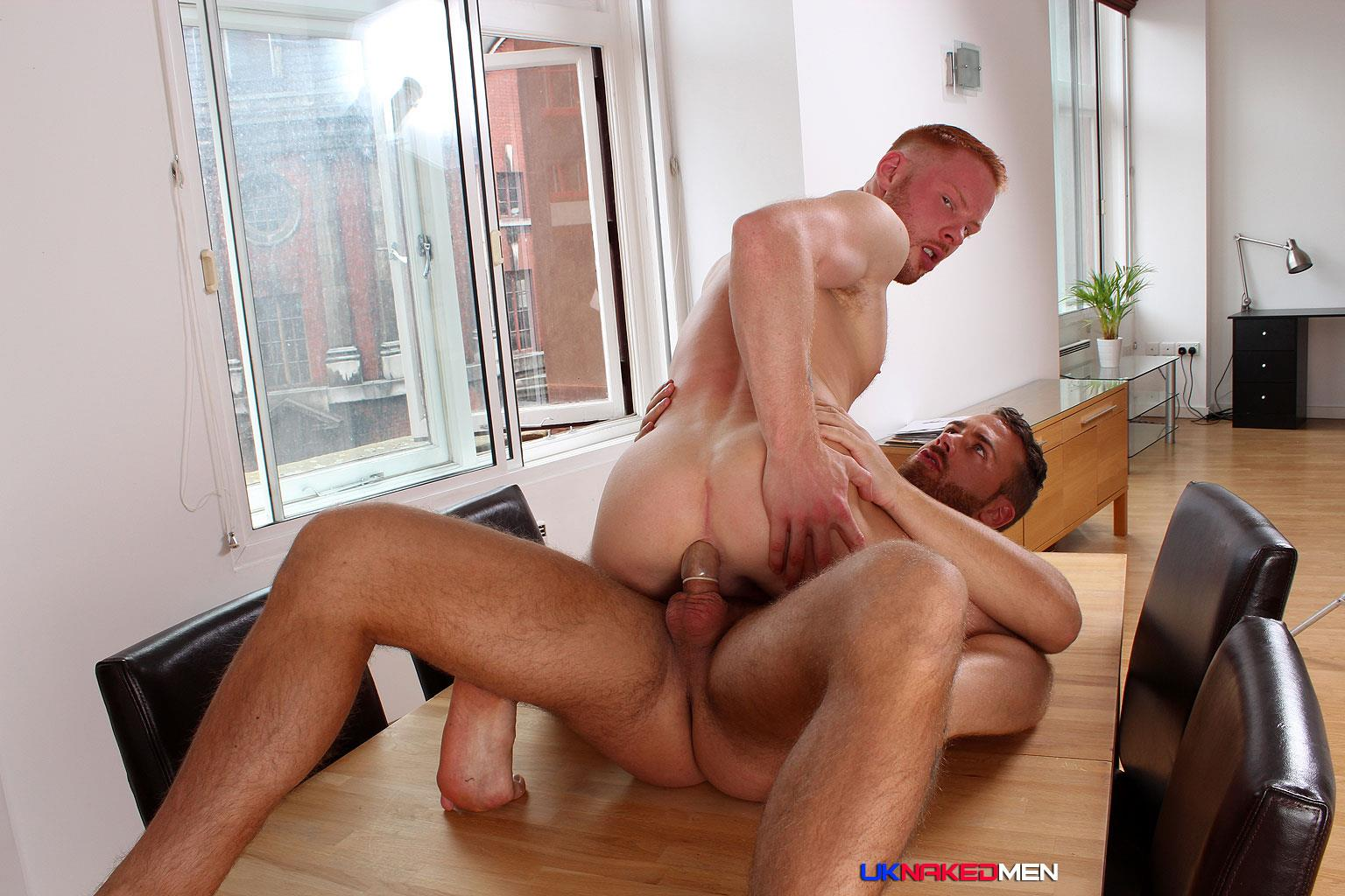 UK-Naked-Men-Logan-Moore-and-Andro-Maas-Redhead-Gets-Fucked-By-Big-Uncut-Cock-Amateur-Gay-Porn-16 Redhead Andro Maas Takes A Big Thick Uncut Cock Up The Ass