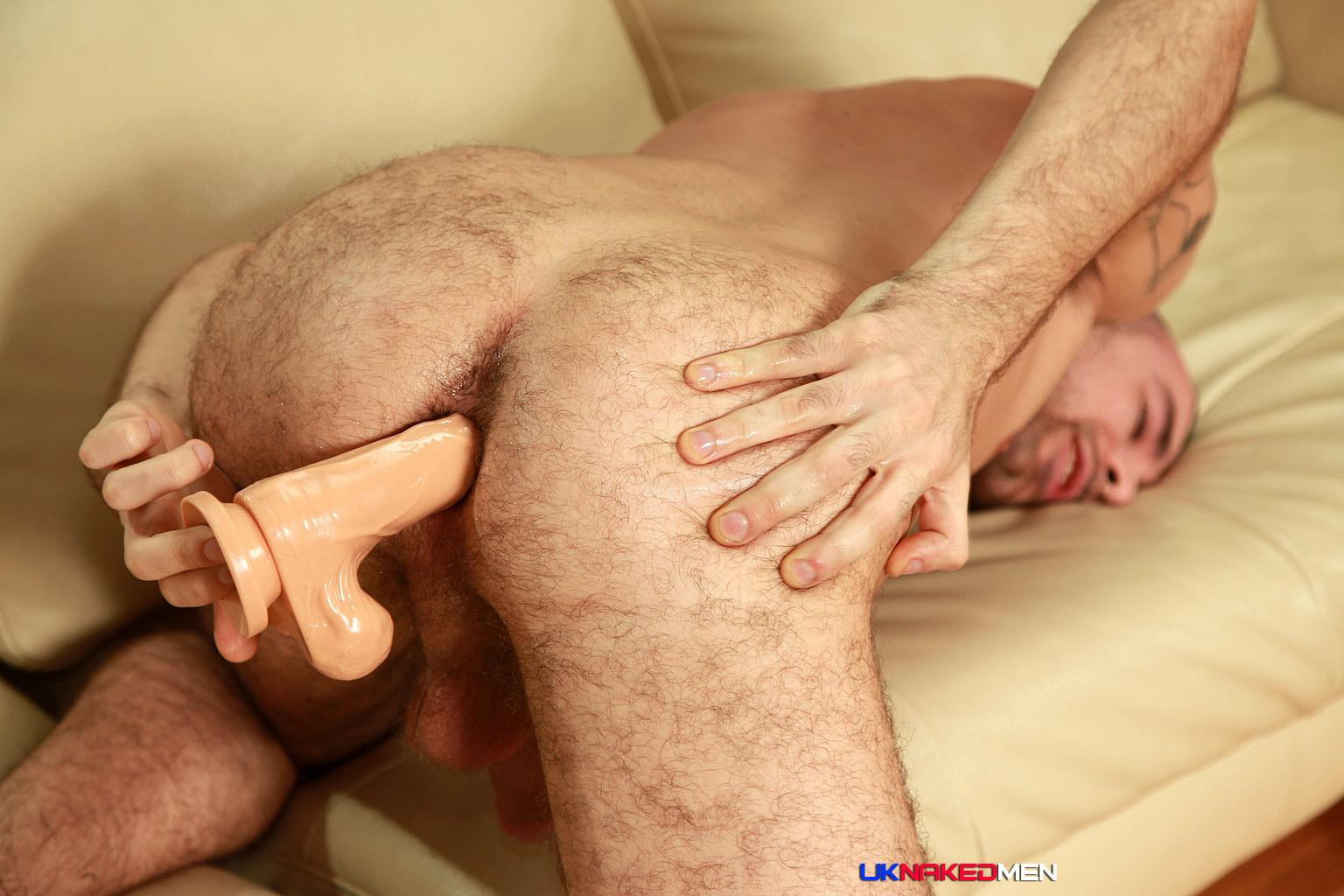 UK-Naked-Men-Sam-Syron-Irish-Guy-With-A-Big-Uncut-Cock-Jerk-Off-Amateur-Gay-Porn-16 Irish Guy With A Big Uncut Cock Sticks A Dildo In His Hairy Ass