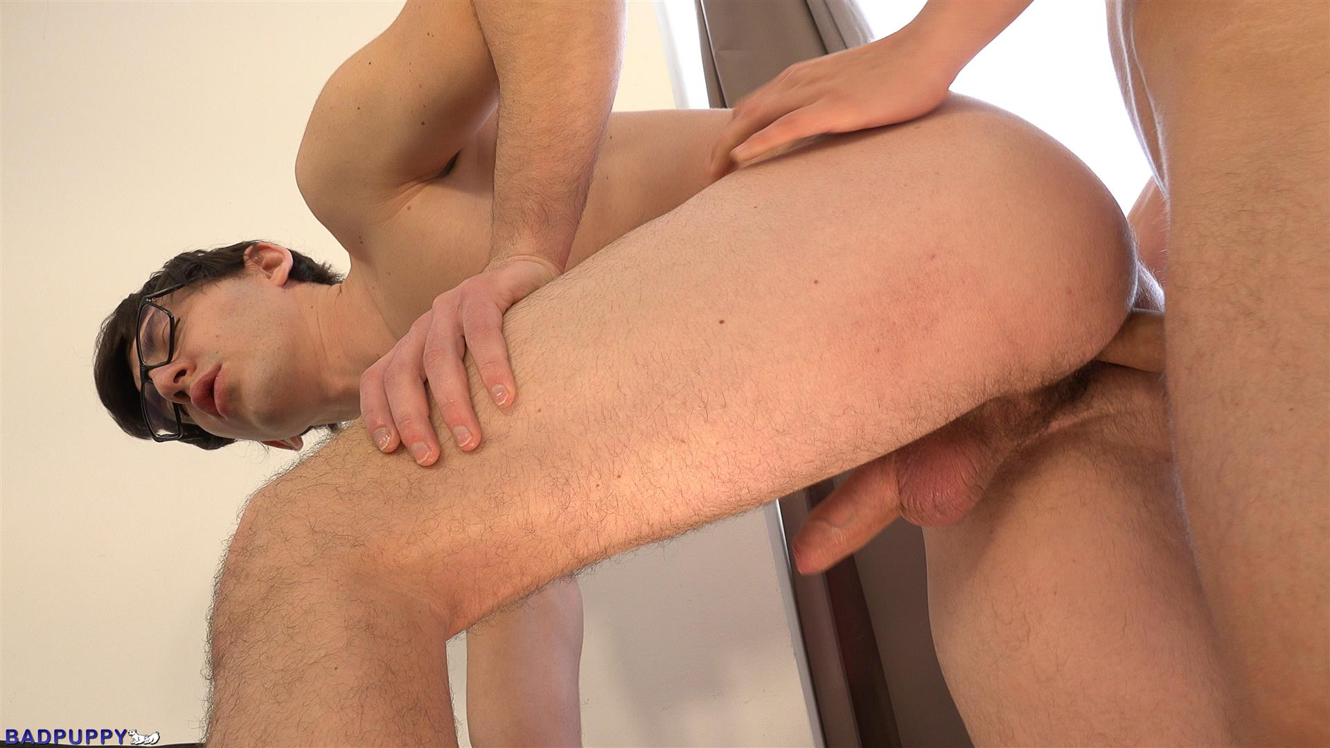 Badpuppy-Petr-Cisler-and-Roco-Rita-Hairy-Ass-Twinks-Bareback-Amateur-Gay-Porn-19 Nerdy Twink Gets Fucked With A Big Uncut Dick In His Hairy Ass