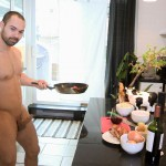 Maskurbate Muscle Hunk With A Big Uncut Cock Jerking Off Amateur Gay Porn 08 150x150 The Naked Chef Jerks His Big Uncut Cock In The Kitchen
