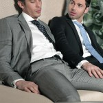 Men At Play Dario Beck and Maikel Cash Guys In Suits Fucking Amateur Gay Porn 10 150x150 Dario Beck Gets His Hairy Ass Fucked By Maikel Cashs Thick Uncut Dick