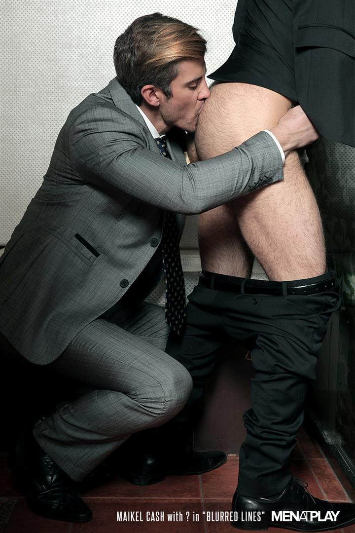 Men At Play Dario Beck and Maikel Cash Guys In Suits Fucking Amateur Gay Porn 18 Dario Beck Gets His Hairy Ass Fucked By Maikel Cashs Thick Uncut Dick