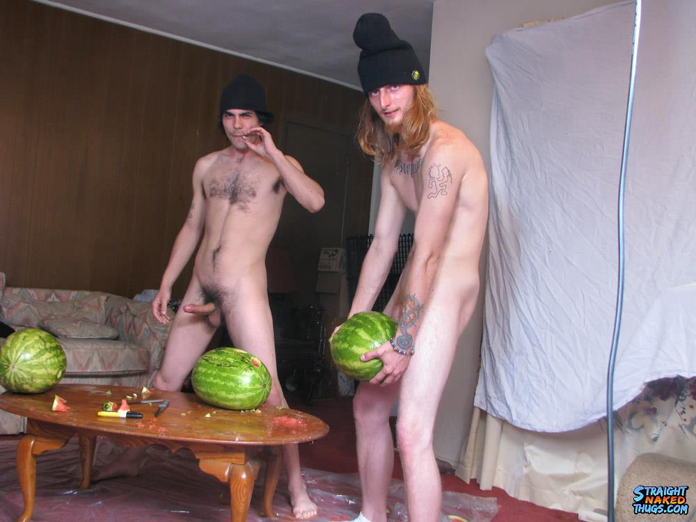 Straight Naked Thugs Devin Reynolds and Blinx and Kenneth Slayer Fucking A Watermelon Amateur Gay Porn 13 Straight Southern Naked Rednecks Fuck Some Watermelons With Their Big Dicks