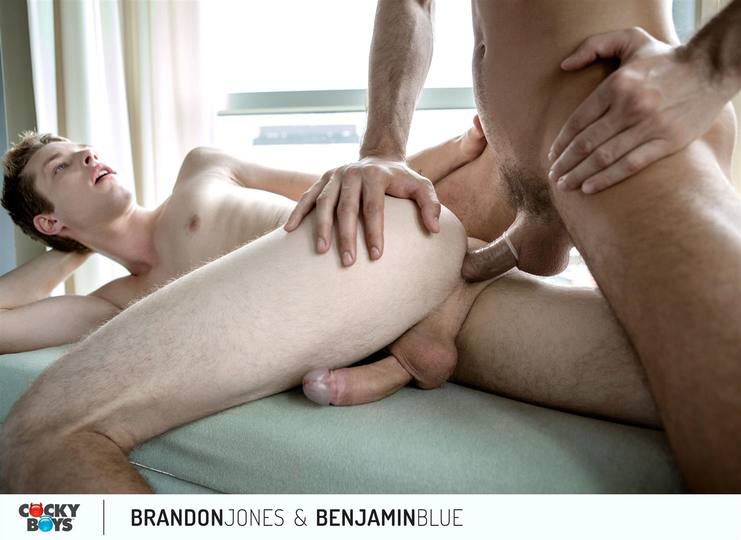 Cockyboys-Benjamin-Blue-and-Brandon-Jones-Flip-Flop-Fuck-Amateur-Gay-Porn-20 Cockyboys: Benjamin Blue Tops Brandon Jones For The First Time