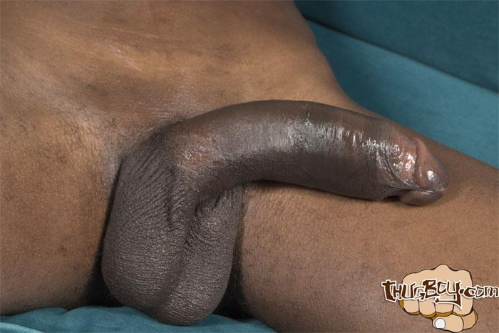 Thug Boy Tyrelle Big Black Uncut Cock Jerk Off Amateur Gay Porn 59 Thug Boy Tyrelle Strokes His Big Black Uncut Cock
