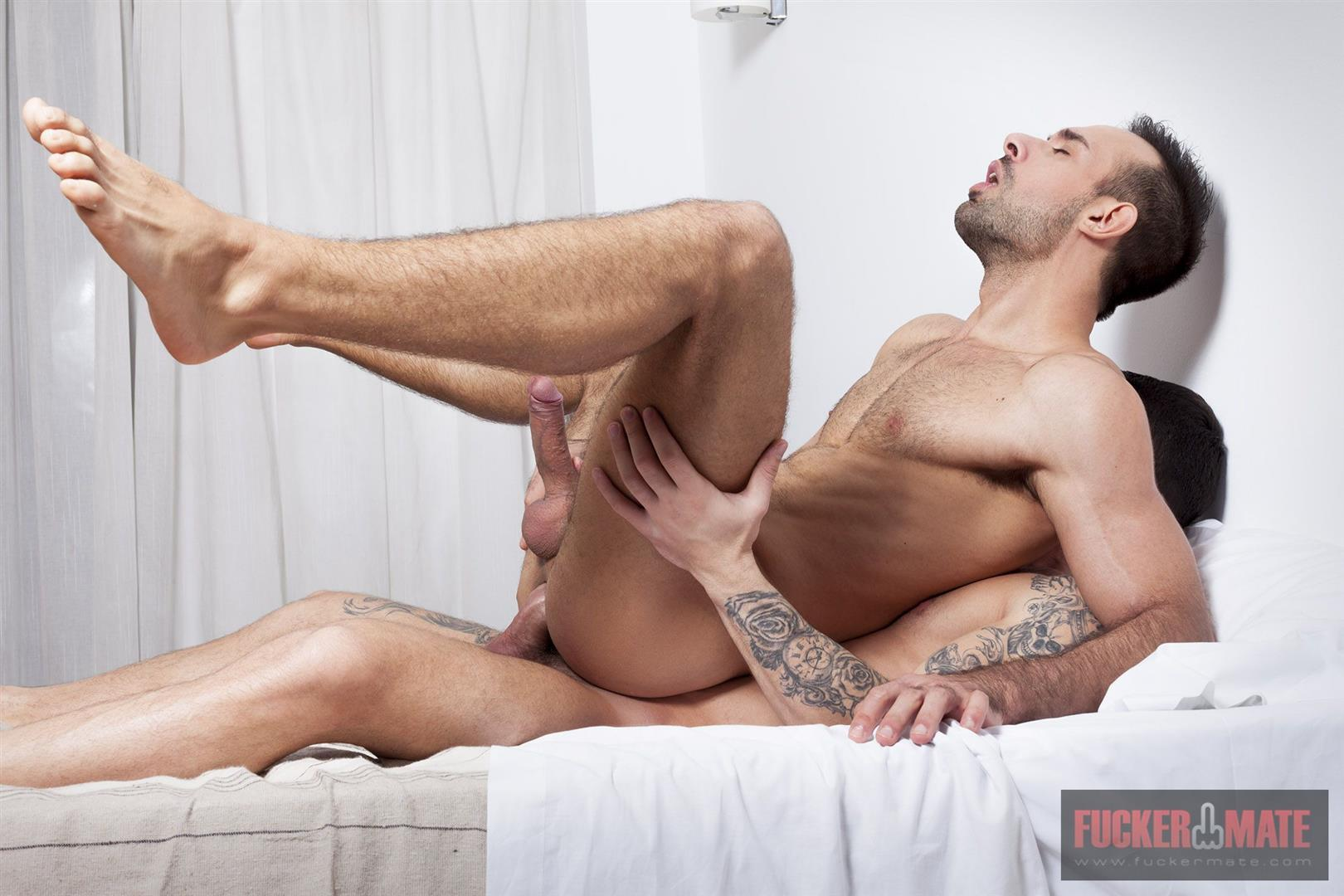 Fuckermate-Alejandro-Torres-and-Jonathan-Forrest-Big-Uncut-Cock-Bareback-Sex-09 Big Uncut Cock Italian Hunk Gets Fucked In The Ass Bareback
