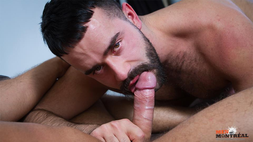 Men-of-Montreal-Teddy-Torres-and-Mateo-Amateur-Gay-Porn-07 Hairy Muscle Jock Teddy Torres Gets His Hairy Ass Plowed Deep