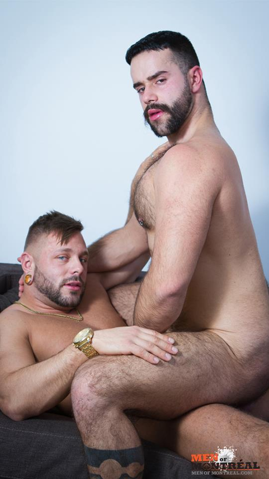 Men of Montreal Teddy Torres and Mateo Amateur Gay Porn 31 Hairy Muscle Jock Teddy Torres Gets His Hairy Ass Plowed Deep
