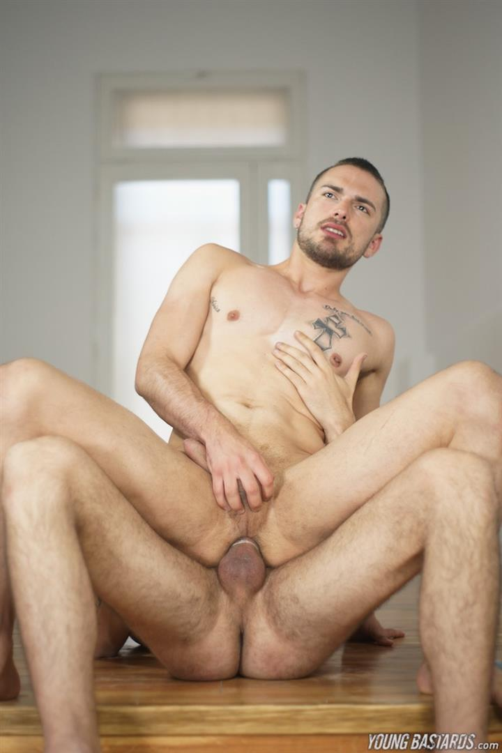 Young-Bastards-Abraham-Montenegro-and-Jean-Favre-Big-Uncut-Cock-27 Getting A Face Full Of Cum From A Thick Uncut Cock