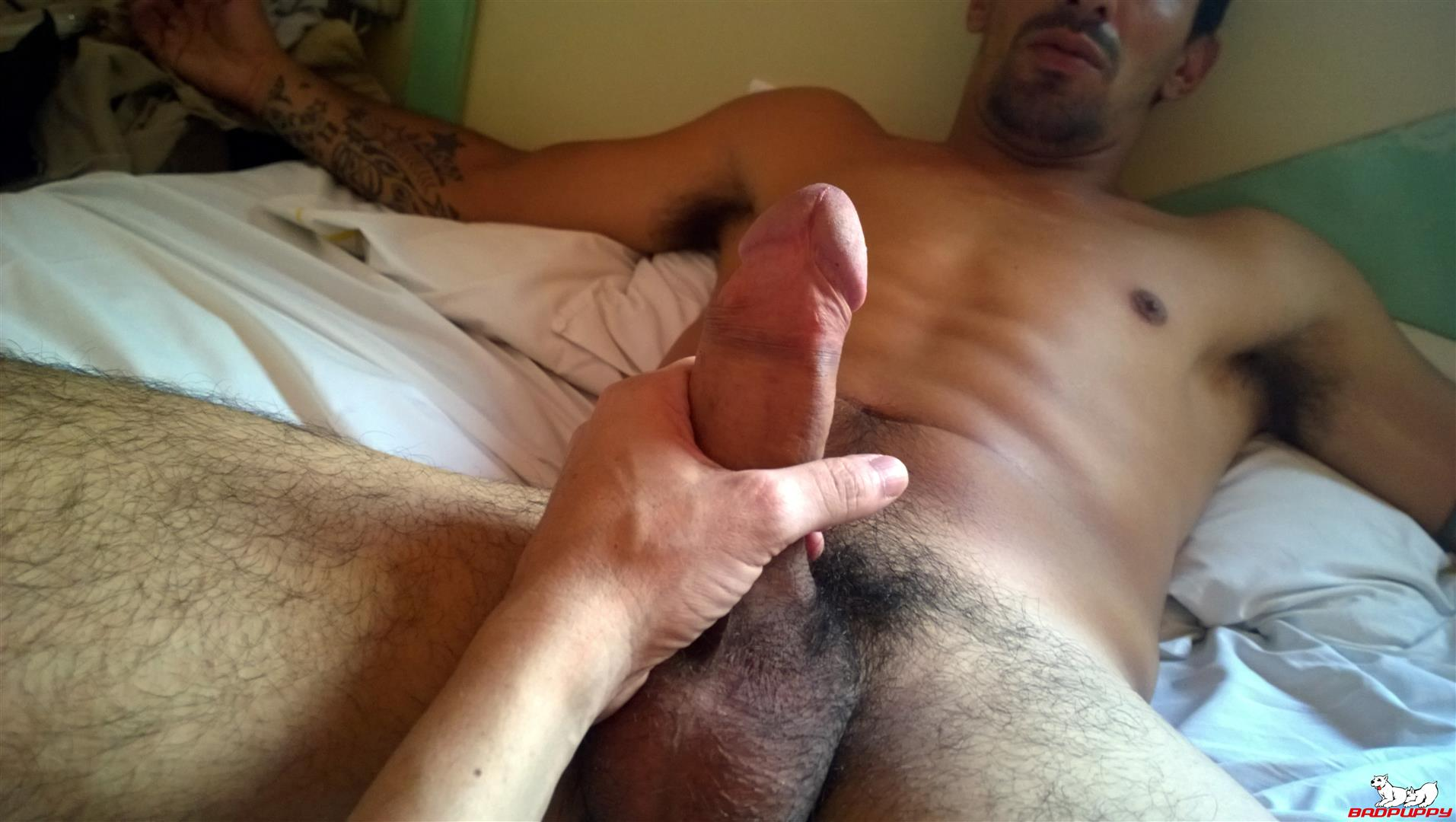 Badpuppy Fabian Flores Argentinian with a Big Uncut Cock 09 Argentinian Hunk With A Big Uncut Cock Auditions For Gay Porn