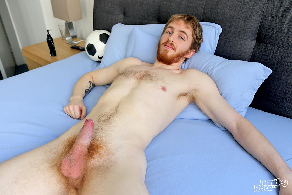 Bentley Race Tomas Kyle Redheaded Jock With A Big Uncut Cock 25 Ginger Jock Busts Out His Big Uncut Cock And Hairy Balls