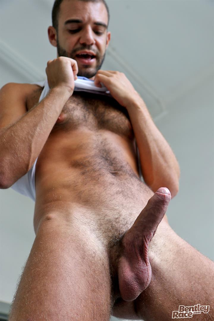 Bentley-Race-Layton-Charles-Hairy-Guy-With-A-Big-Uncut-Cock-Jerk-Off-16 Hairy English Guy With A Big Uncut Cock Jerks Off For The Camera