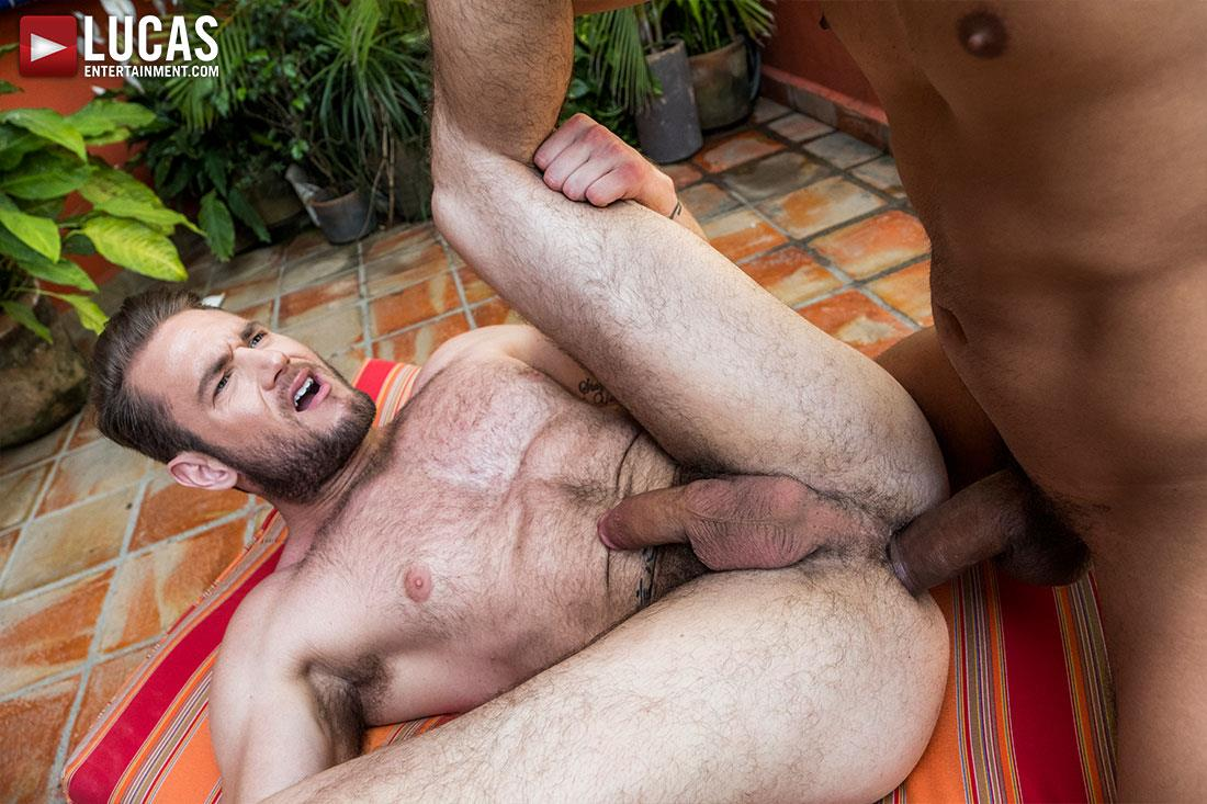 Lucas-Entertainment-Alejandro-Castillo-and-Ace-Era-Big-Uncut-Mexican-Cock-Bareback-Video-13 Hairy Muscle Hunk Takes A Big Uncut Mexican Cock Raw Up The Ass