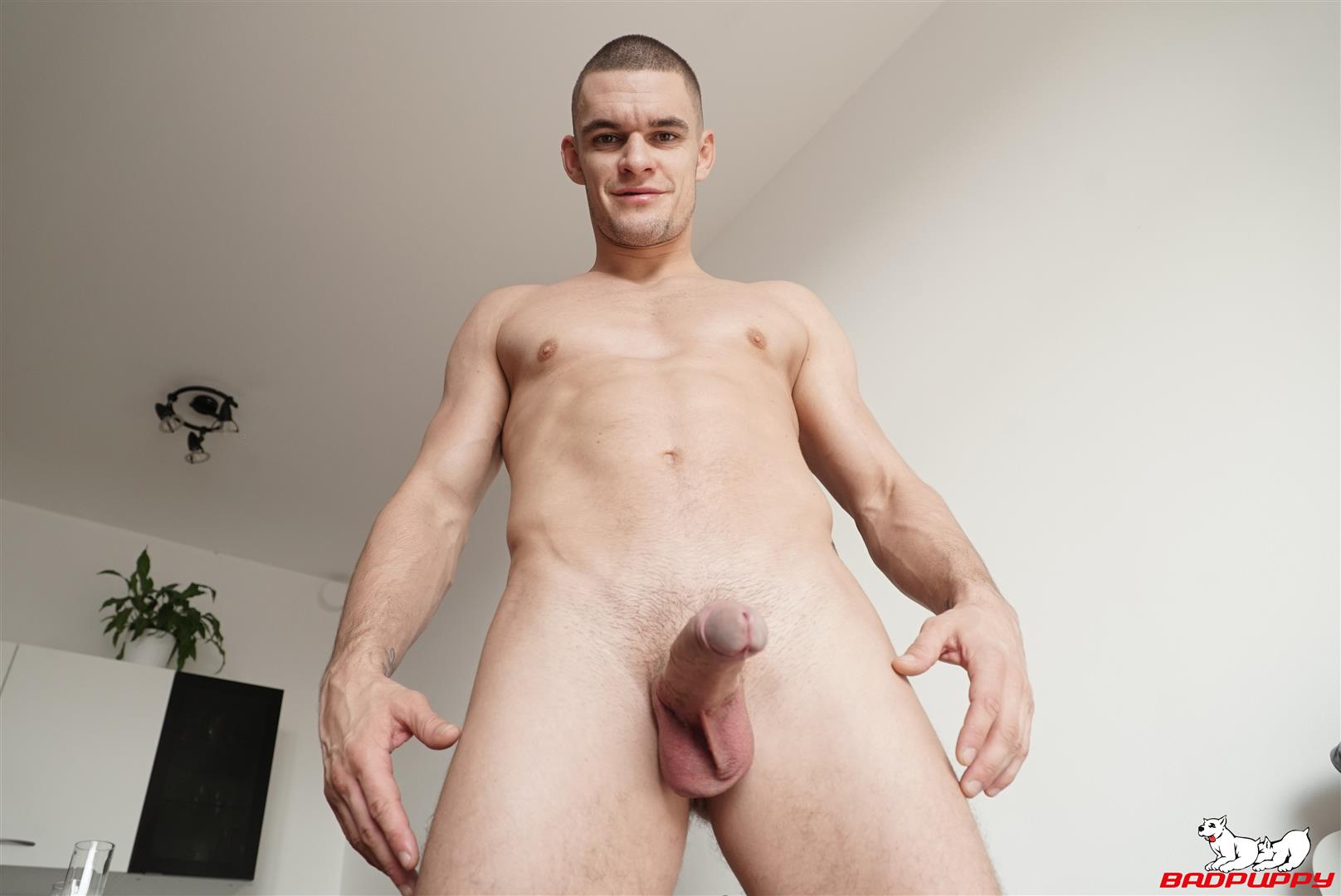 Badpuppy-Max-Dior-Big-Uncut-Cock-Jerkoff-Video-13 Waking Up From A Nap And Jerking Off My Big Uncut Cock