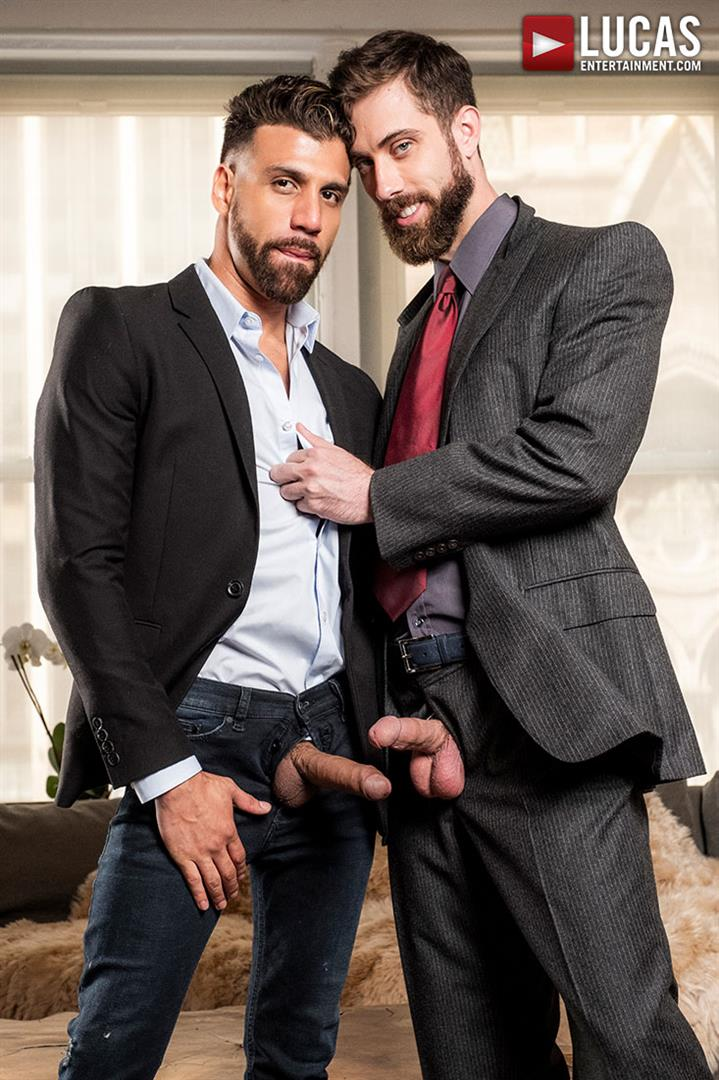 Lucas-Entertainment-Jason-Cox-and-FX-Rios-Big-Dick-Guys-In-Suits-Bareback-03 Big Dick Guys In Suits Jason Cox and FX Rios Share A Bareback Fuck