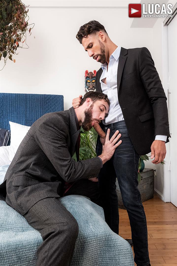 Lucas-Entertainment-Jason-Cox-and-FX-Rios-Big-Dick-Guys-In-Suits-Bareback-06 Big Dick Guys In Suits Jason Cox and FX Rios Share A Bareback Fuck