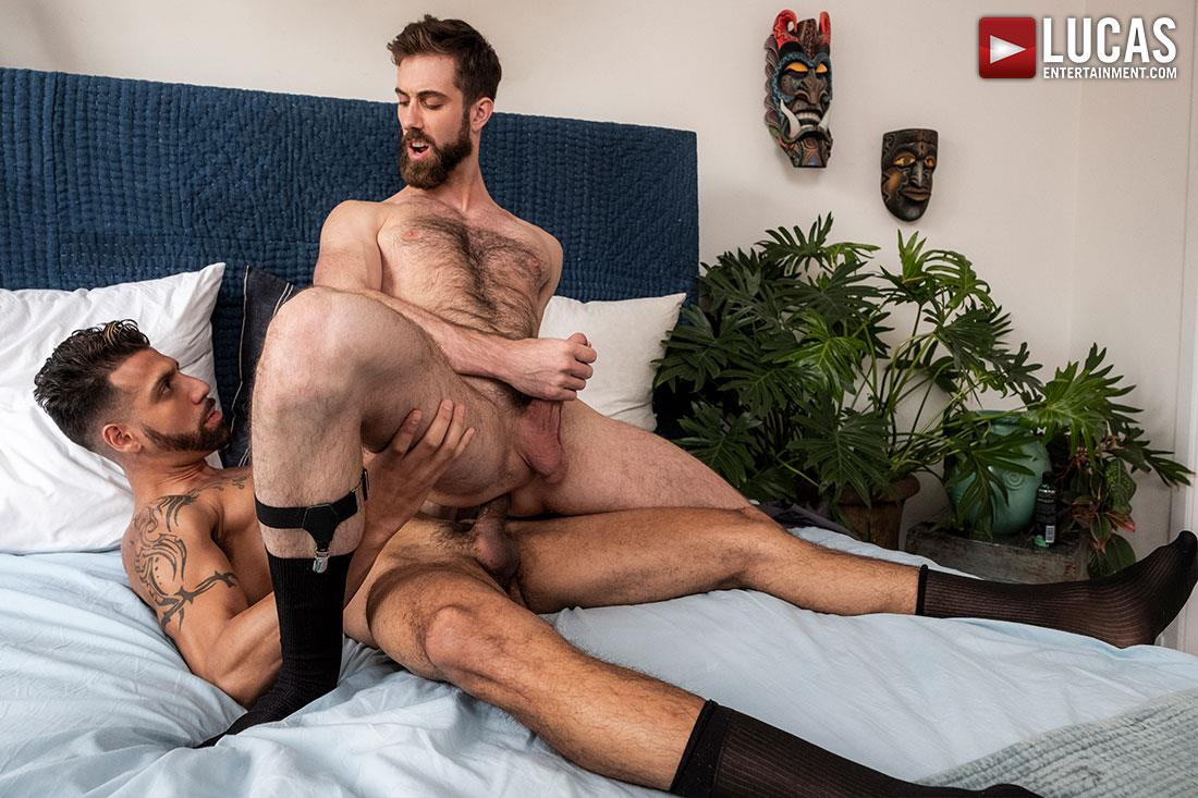 Lucas-Entertainment-Jason-Cox-and-FX-Rios-Big-Dick-Guys-In-Suits-Bareback-11 Big Dick Guys In Suits Jason Cox and FX Rios Share A Bareback Fuck