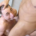 Shower-Bait-Seth-Santoro-and-Michael-Boston-Big-Uncut-Dick-Getting-Fucked-10-150x150 Michael Boston Shoots A Huge Load From His Big Uncut Cock
